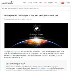 """MultilingualPress wird zum """"freien"""" Plugin – Mehrsprachiges WordPress für alle » MarketPress Deutschland"""