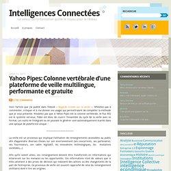 Intelligences Connectées » Yahoo Pipes: Colonne vertébrale d'une plateforme de veille multilingue, performante et gratuite