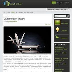 Multiliteracies Theory