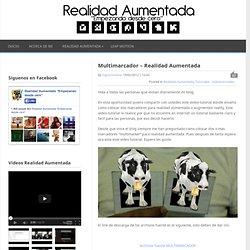 Multimarcador – Realidad Aumentada :