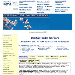 Multimedia Careers