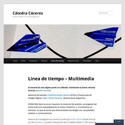 Linea de tiempo – Multimedia