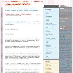 Ecrire pour le web : vers une écriture multimedia