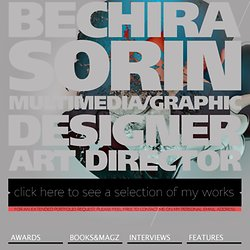 Bechira Sorin - Multimedia / Graphic Designer & Art Director