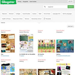 Glogster: Multimedia Posters