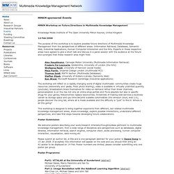 Multimedia Knowledge Management Network