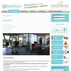 Mediatheque - Ludothèque René Goscinny