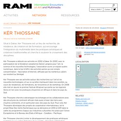 KËR THIOSSANE - RAMI - Art Multimedia Mediterranean Sea