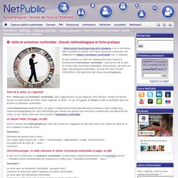 Veille et animation multimédia : Dossier méthodologique et fiche pratique