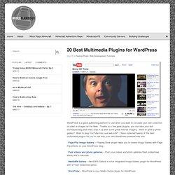 20 Best Multimedia Plugins for WordPress