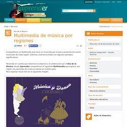 Multimedia de música por regiones