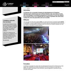 Art multimédia, residence artiste et atelier artiste