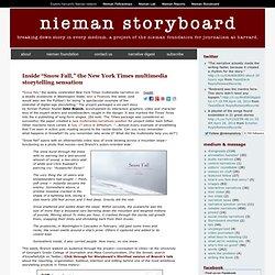 "Inside ""Snow Fall,"" the New York Times multimedia storytelling sensation"