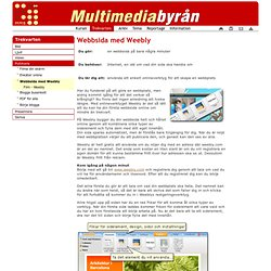 Multimediabyrån - Skolverket