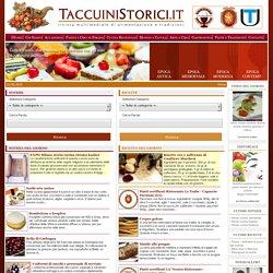 Taccuini Storici rivista multimediale di gastronomia e tradizioni popolari