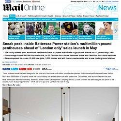 Inside Battersea Power station's multimillion pound penthouses