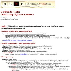 Multimodal Documents Inquiry