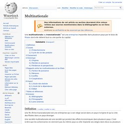 Multinationale
