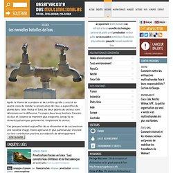 Dossier: Mulinationales et la bataille de l'eau