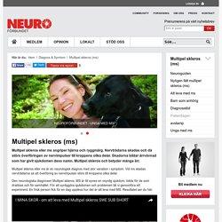 Multipel skleros (ms) — Neuroförbundet