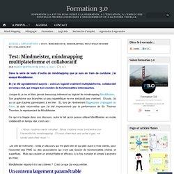 Test: Mindmeister, mindmapping multiplateforme et collaboratif – Formation 3.0