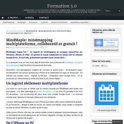 MindMaple: mindmapping multiplateforme, collaboratif et gratuit