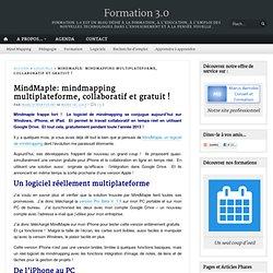 MindMaple: mindmapping multiplateforme, collaboratif et gratuit !