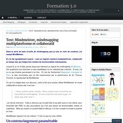 Test: Mindmeister, mindmapping multiplateforme et collaboratif