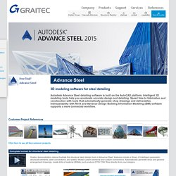 Advance Steel: Multiplatform Steel Detailing Software