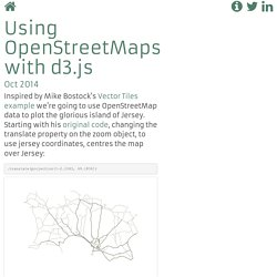 Multiple Layers from OpenStreetMaps in d3.js