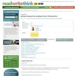 Multiple Perspectives: Building Critical Thinking Skills