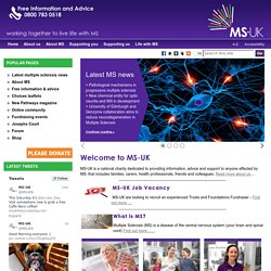 Multiple Sclerosis Resource Centre