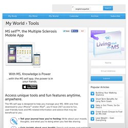 Multiple Sclerosis App MS self app