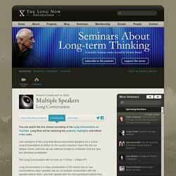 Multiple Speakers: Long Conversation