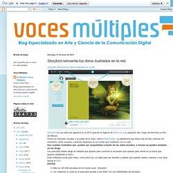 Voces Múltiples: Storybird reinventa los libros ilustrados en la red
