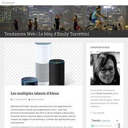 Les multiples talents d'Alexa – Tendances Web