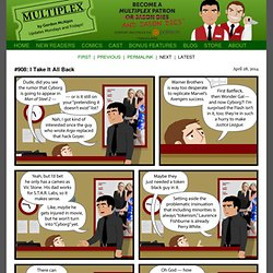 Multiplex - a comic strip about life at the movies