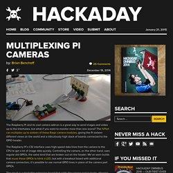 Multiplexing Pi Cameras