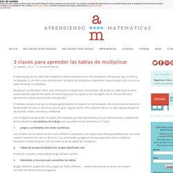 3 claves para aprender las tablas de multiplicar