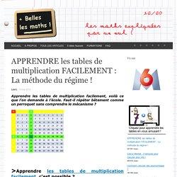 Apprendre les tables de multiplication facilement !