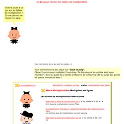 Maths ressources ecole pearltrees for Revision table de multiplication