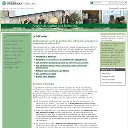 Multiplication des outils de portfolio dans la formation universitaire: Service de soutien à la formation
