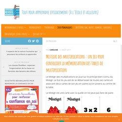 Mistigri des multiplications : un jeu gratuit pour consolider la mémorisation des tables de multiplication