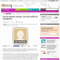 Sur les réseaux sociaux, les faux profils se multiplient