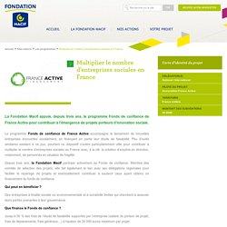 Multiplier le nombre d'entreprises sociales en France