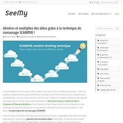 Générez et multipliez des idées grâce à la technique de concassage SCAMPER! - SeeMy : Plateforme collaborative pour l'innovation