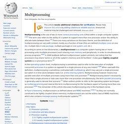 Multiprocessing