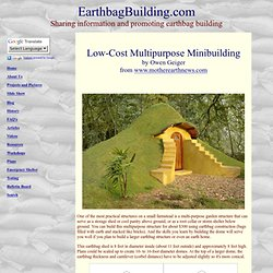 Low-Cost Multipurpose Minibuilding