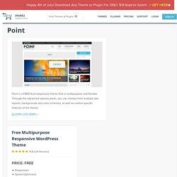Point - Free Multipurpose Responsive WordPress Theme