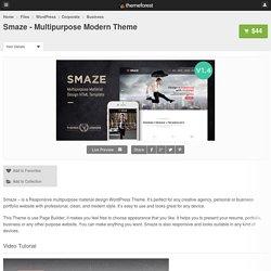 Smaze - Multipurpose Modern Theme - WordPress